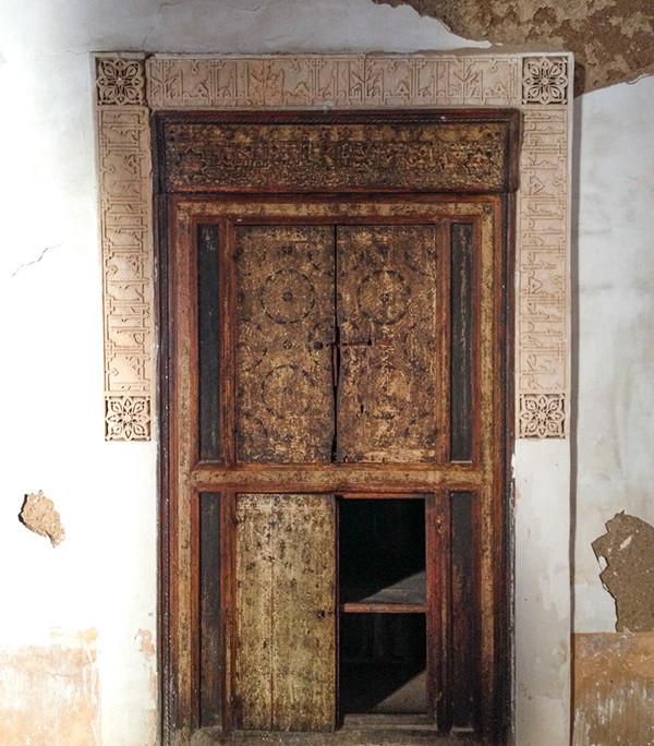 Morocco. Old door.