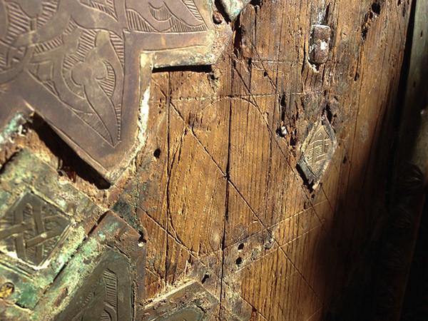 Morocco. Door detail. Process in sight