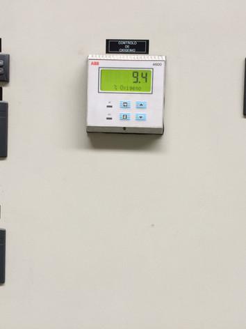 Análise de oxigénio em caldeira de 4.6 MW