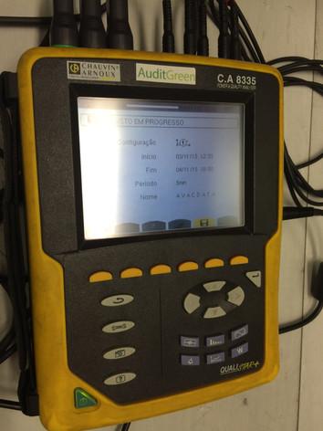 Medição de instalação AVAC
