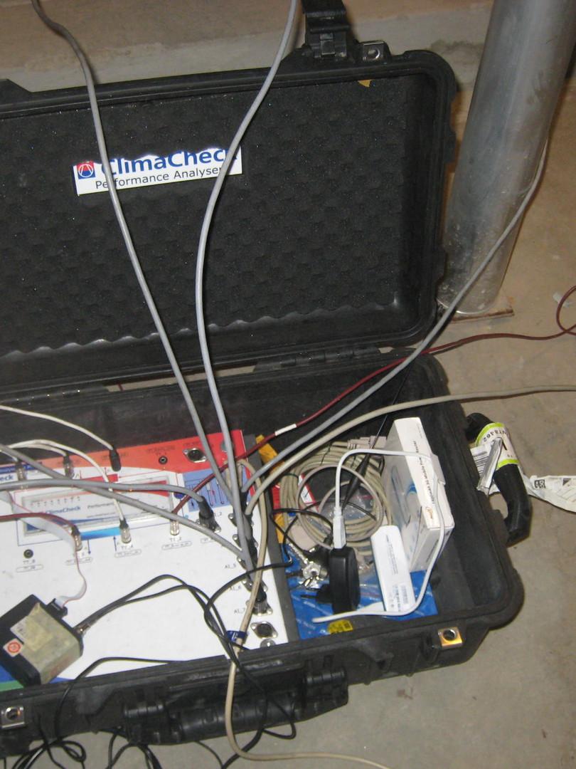 Análise de rendimento de chiller de 2 MW