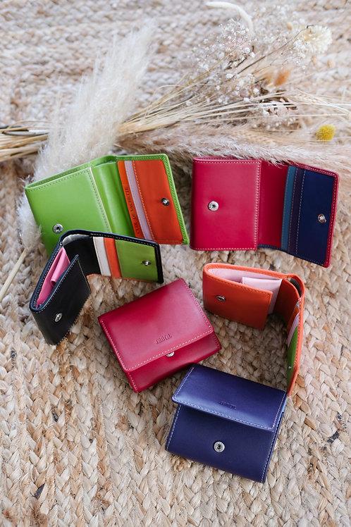 Porte monnaie multi couleurs