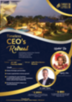 African CEO RETREAT with Dr. Rollan Robe