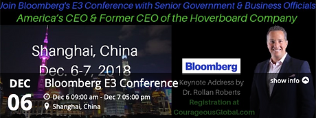 Dr. Rollan Roberts America's CEO Shanghai China Bloomberg Business Week