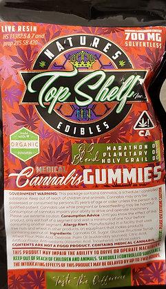 Top Shelf Inc. Cherry Gummy Rings 700mg