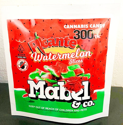 Picante Watermelon Gummies 300mg