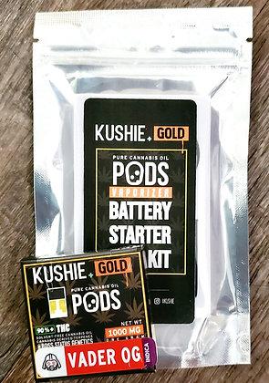 Kushie POD System (1 Gram Pod + Battery)