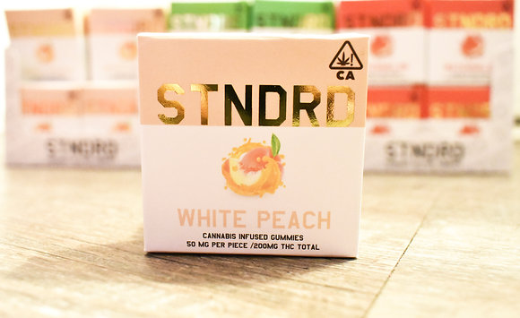 White Peach Gummy's 200mg