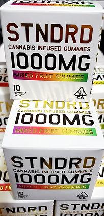 STNDRD Mixed Fruit 1000mg Gummies