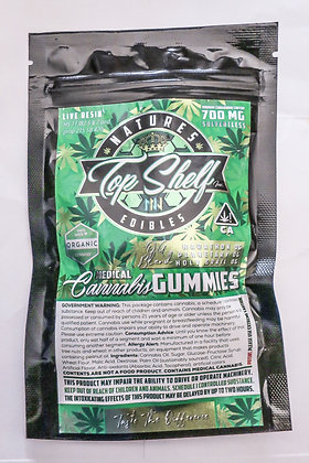Top Shelf Inc Gummy Worms 700 mg
