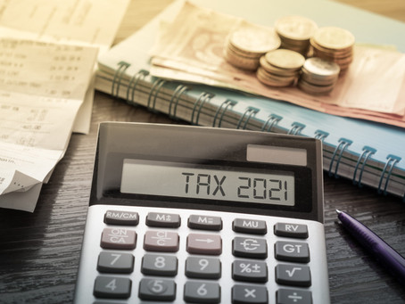 2021 Tax Brackets and Other Tax Code Changes