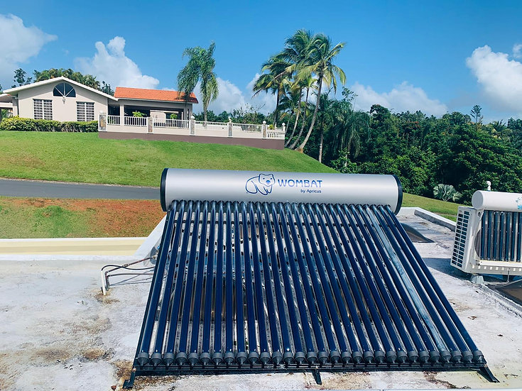 Calentadores Solares WOMBAT by Apricus