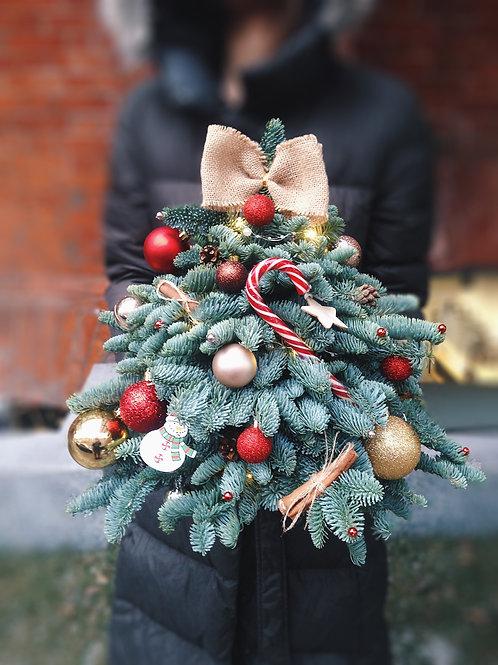 Живая елка ручной работы