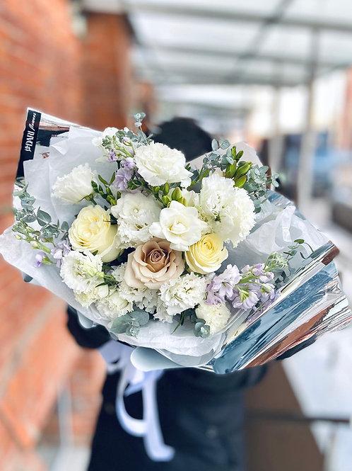 зимний букет цветов