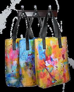 les sacs dérivés de gisele vivier, art