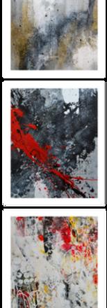 Peintures abstraites de l'artiste peintr