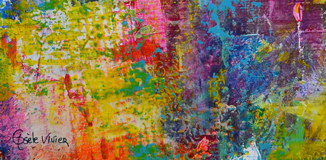 peinture acrylique par l'artiste peintre