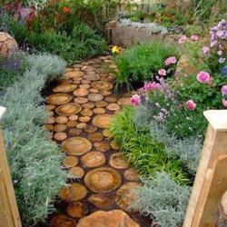 Sunny Perennial Garden