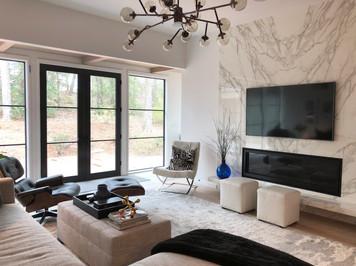 Interior structure remodel