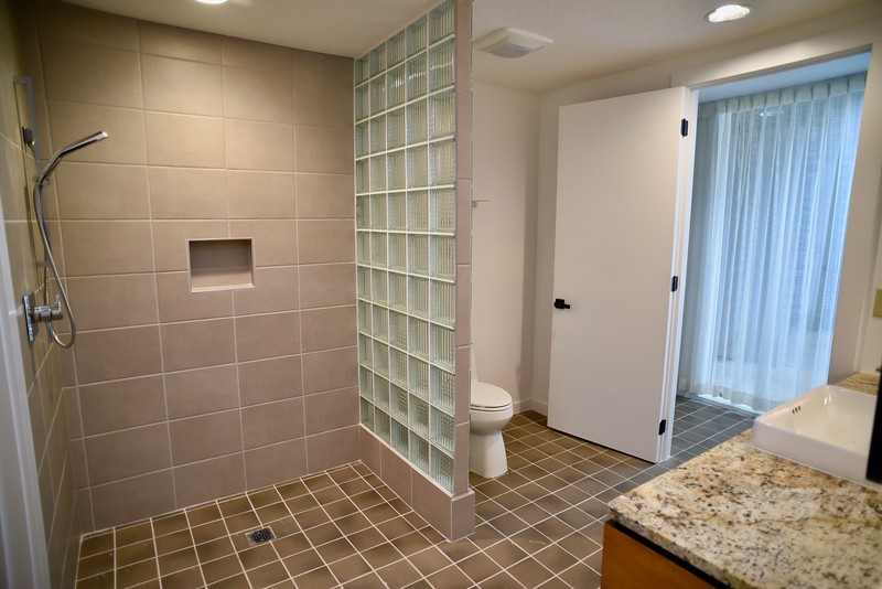 residential interior bathroom remodel