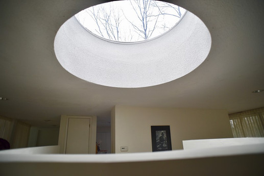 Unique skylight feature