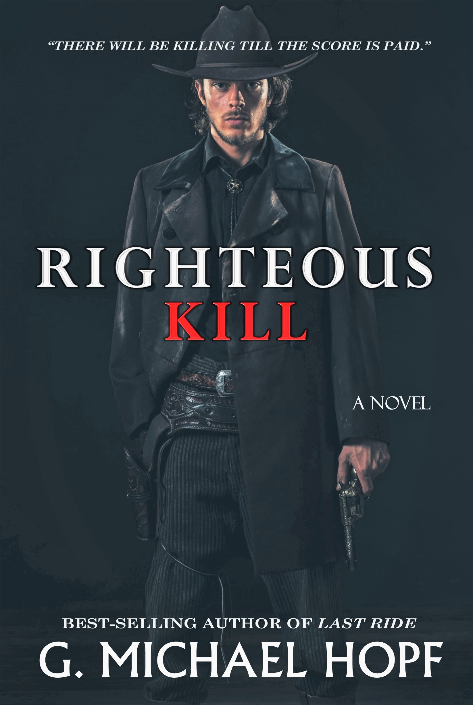 RIGHTEOUS KILL COVER CONCEPT