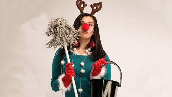 Limpezas de Natal - guia de sobrevivência