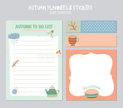 cute-calendar-to-do-list-template-note-paper-stickers-set-vector-autumn-illustrations-good-kids-fun-