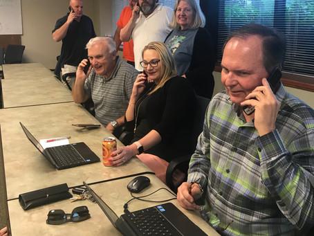 Members make calls