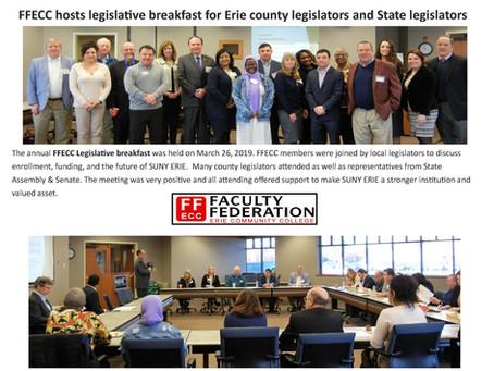 FFECC hosts legislative breakfast