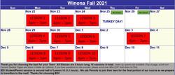 2021 New Fall Winona