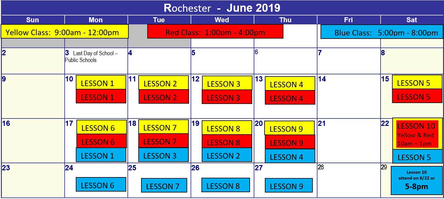Rochester Public Schools Calendar.Enhanced Driving Ins Rochester