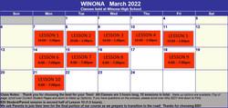 2022 March Winona
