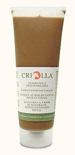 Masque Visage au Bois de Santal Criolla