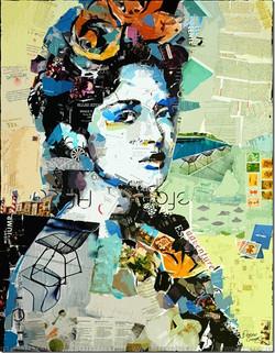 Frida- collage