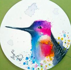 colibrí-_acuarela