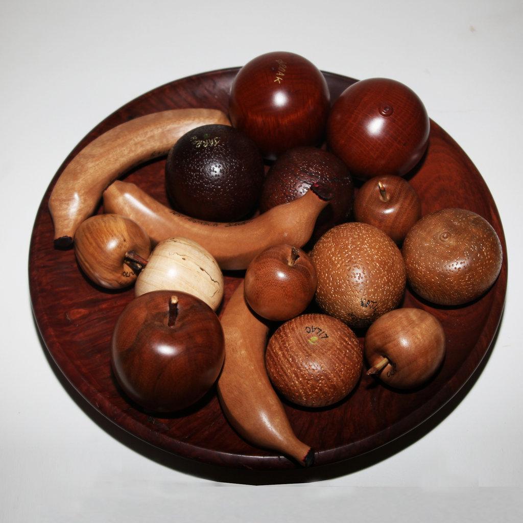 Timber bowl & Fruit