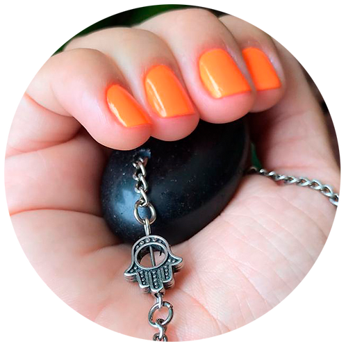 Amuleto Meditação Prata - Imagem Ilustrativa