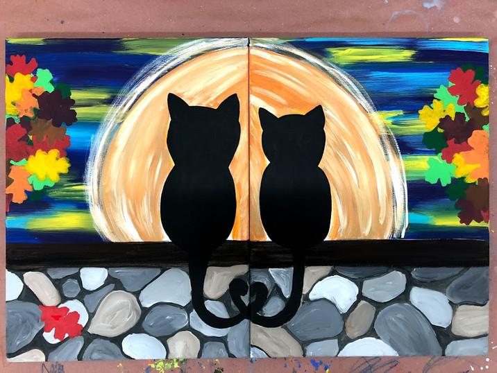 Kitty Autumn Love