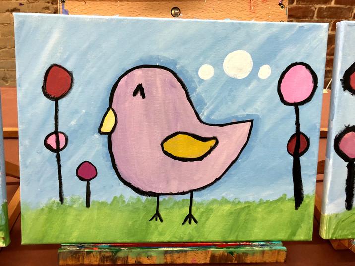 Happy Little Bird
