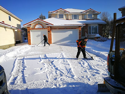 Snow Removal - sometimes we have to shov