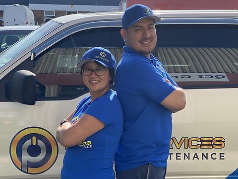 The Clean Team - Nancy and Cesar.HEIC