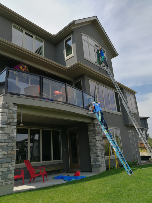 Three Story Window Cleaning