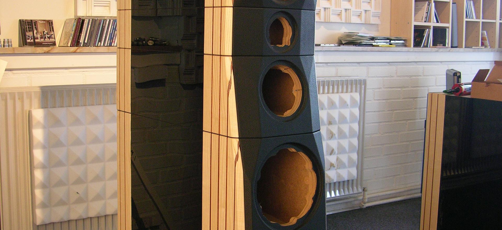 Modular build cabinets