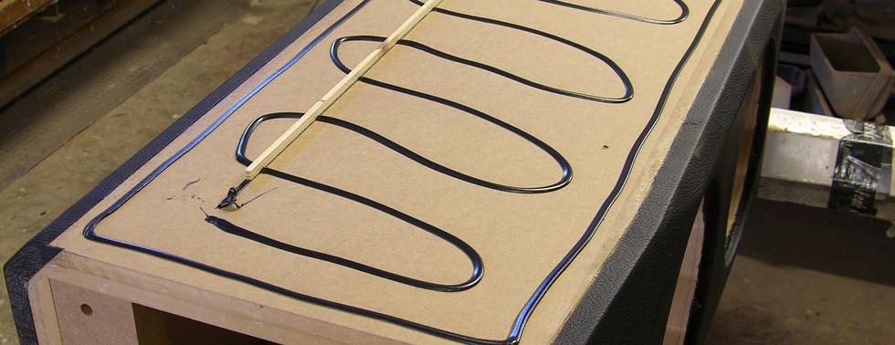 Mounting of the Hardwood Panels