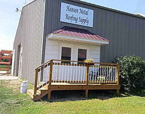 Hansen Metal Roofing Supply
