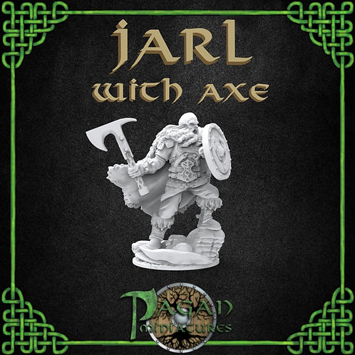 Jarl With Axe and Shield