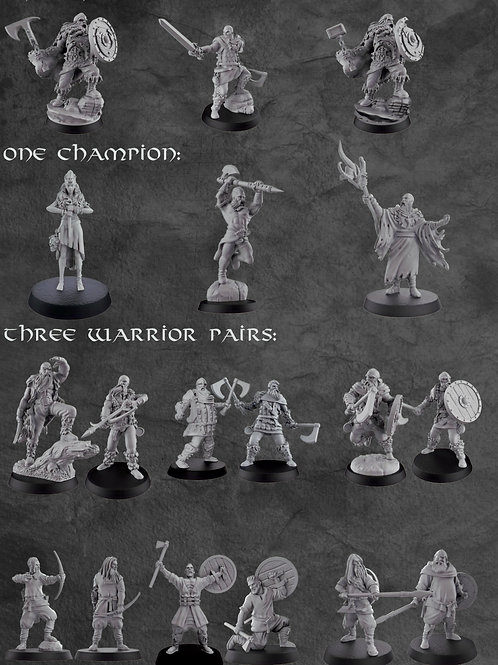 Create your Own Warband