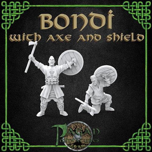Bondi Pair with Axe & Shield