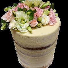 semi naked large tall vanilla iced with